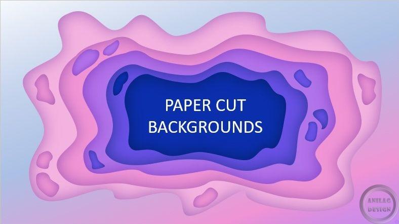 Дизайн Paper Cut в оформлении презентаций