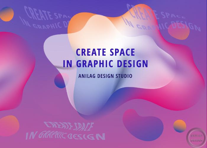 Рассказ с примерами о трендах дизайна в социальных сетях 2021 года. Градиент с плавающими элементами.